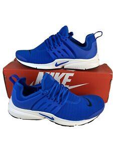 nike air presto blue running shoes
