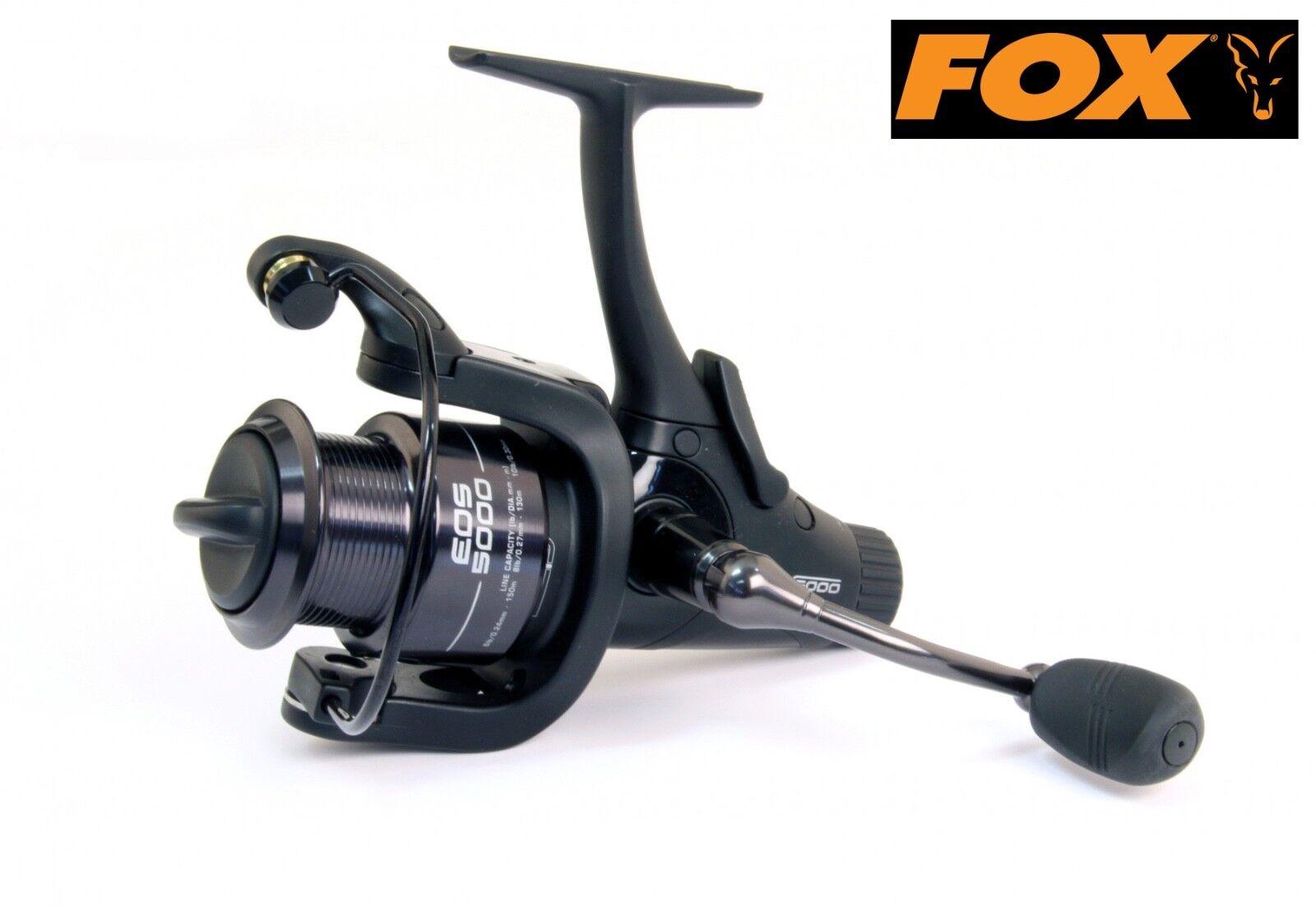 FOX EOS 5000 Reel-CRL062. free spool Freespool. + Nuovo di Zecca GRATIS P&P