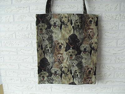 Tragetasche Einkaufstasche Einkaufsbeutel Tasche Beutel Bag Hunde Design Motiv