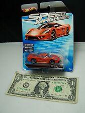 Hot Wheels Speed Machines Red Saleen S7 - Premium Wheels 2010
