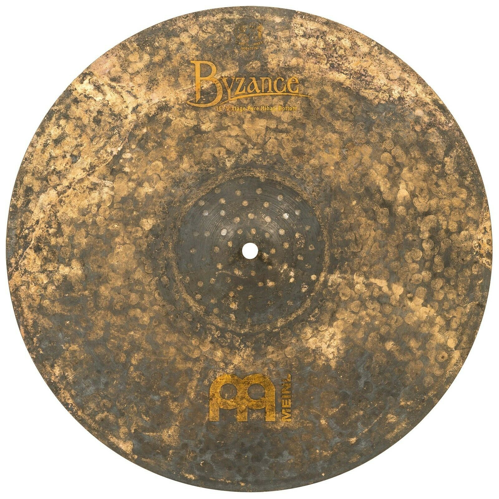 MEINL Cymbals B16VPH Byzance Vintage Pure HiHats 16