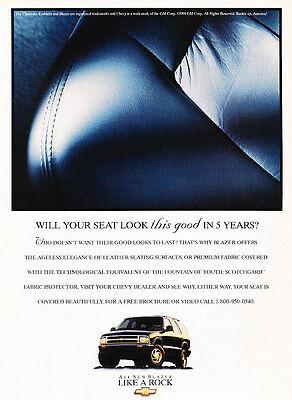 2002 Chevrolet Avalanche Truck Classic Vintage Advertisement Ad H21 rock