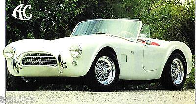 Broschüre Auto & Motorrad: Teile Contemplative 1963/1964/1965 Ac Kobra Shelby 289 Spezial Folie