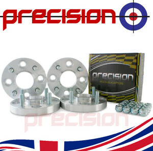 2 Pairs of 20mm Bolt-On Wheel Spacers for Ford Sierra 1987-1993