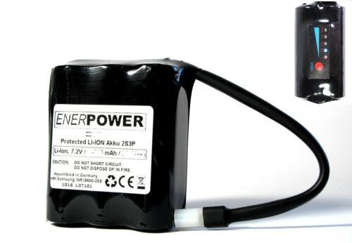 4v Li-ion 12600 mah altramuz mytinysun LED 20700 Enerpower Rudow batería 7,2v-7