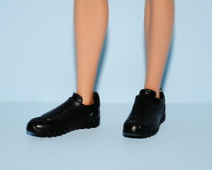 Black KEN Athletic Sporty Casual Moccassin Shoes Genuine BARBIE Fashion