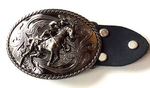 f848586213f1 Cow Boy Rodeo Horse Rider Belt Buckle-Solid-Bull Fighter-Western ...