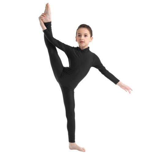 Enfants Filles Ballet Danse Justaucorps Gymnastique Combinaison Une seule pièce Catsuit costumes