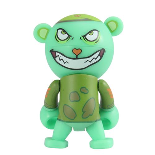 Happy Tree Friends Buddhist Monkey 2.5 Inch Trexi Figure ora Naughty And Nice