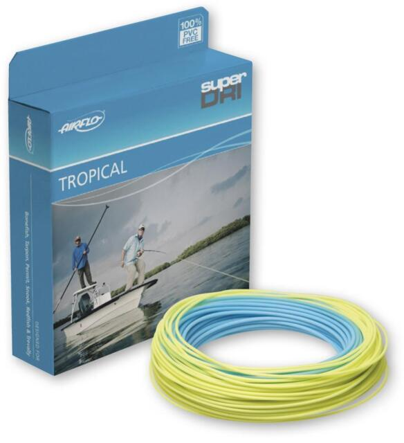 Airflo Chard/'s Tropical Punch WF8F Fly Line Sky Blue Yellow Free Fast Shipping