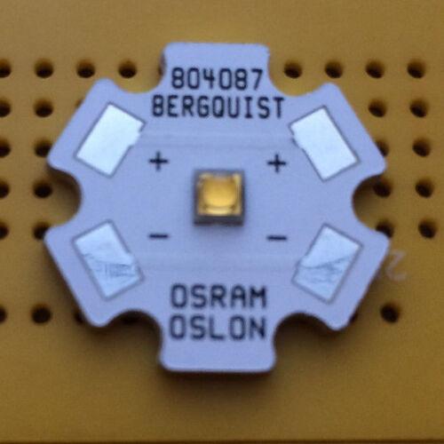 Osram OSLON SSL80 Neutral White 4000K 1W LED Emitter /& Star Mounted 80CRI