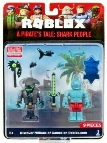 Roblox Game Pack  Pirates Tail Shark People Wave 7