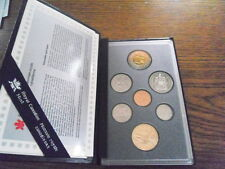 1997 Canada Specimen Coin Set with Original Sleeve & Certificate