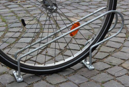1stk vélo support anlehnständer vélo parking vélo support vélos