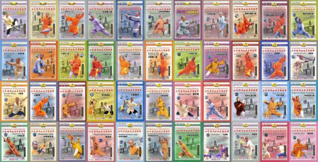 Traditional Shaolin Kungfu series by Shi Deyang 50 DVDs