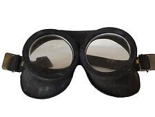2x Genuine Vintage Cold War Soviet Era Black Rubber Goggles Fetish Role Cos Play