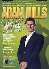 ADAM HILLS Theatre Flyer 2013 Tour Handbill