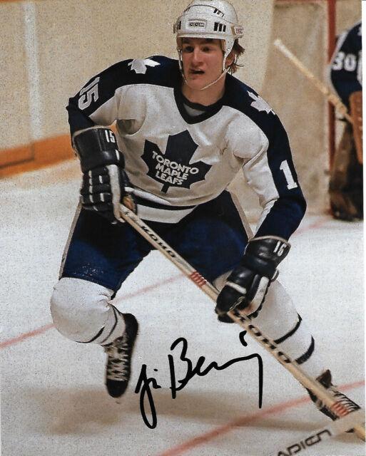 Toronto Maple Leafs Jim Benning Signed Autographed 8x10 Photo COA E