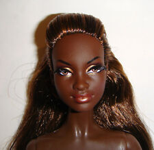 R1 Nude Barbie Doll Long Hair AA Model Muse Barbie Dolls For Ooak cs02