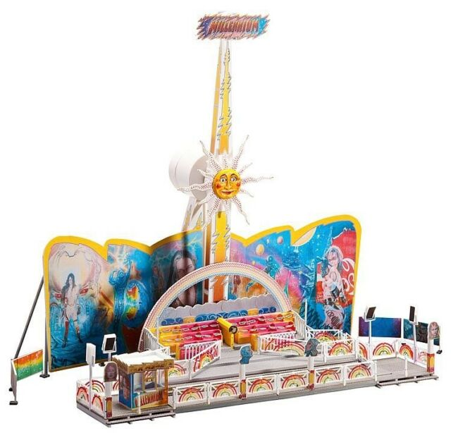 NEW HO Faller Rainbow Millennium Amusement Park Ride :Circus Building KIT 140429