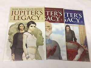 JUPITERS-LEGACY-1-3-IMAGE-MARK-MILLAR-QUITELY-0815334-COMIC-BOOK-SET-LOT-OF-3