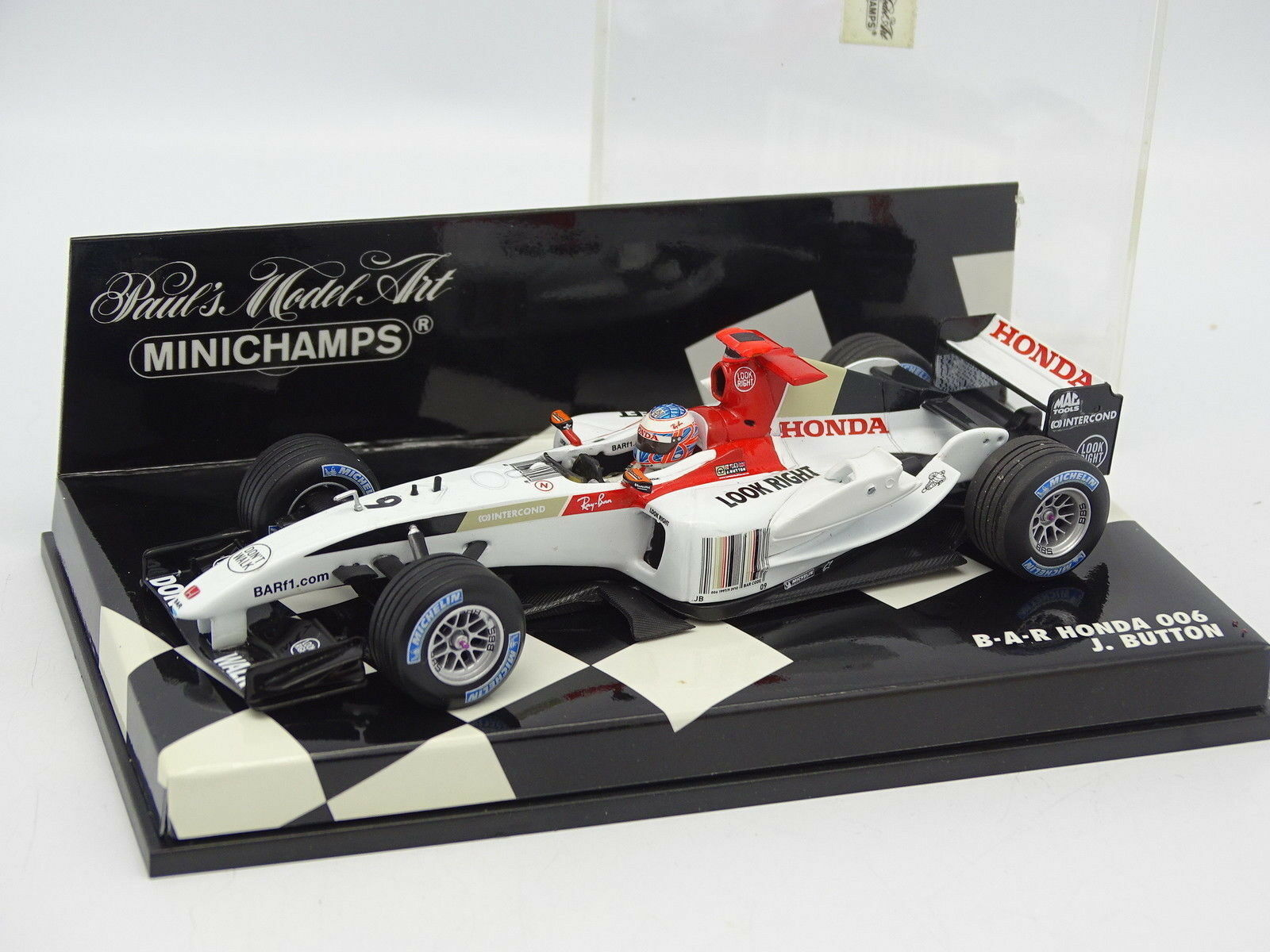 Minichamps 1 43 - F1 Bar Honda 006 Button