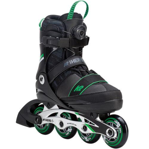 K2 BOA Junior Inline Skates Kinder Inlineskates Inliner Skate Größenverstellbar Inline-Skates