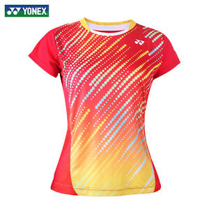 0a154c8b0bca Outdoor sports Women's Tops tennis/badminton Clothes Only T shirts ...