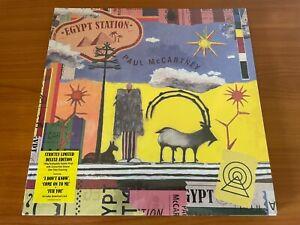 Paul McCartney EGYPT STATION orange & blue deluxe 2018 (LP vinyl Spotify 3333)