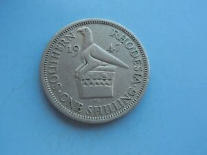 Southern-Rhodesia-One-Shilling-1947-Great-Condition