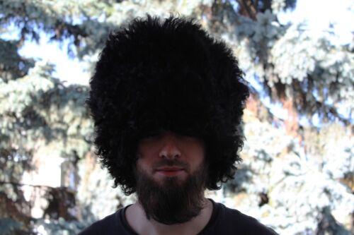 Russian Military FUR sheep Hat PAPAHA Kubanka Kuban Cossack