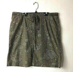 Fresh-Produce-Causal-Drawstring-Skirt-Size-Large