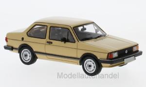 VW Jetta I, marróne claro, 1980 neo 1 43 43579  New