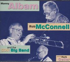 SDR Big Band Manni Albam Rob McConnell Herb Geller Doppel CD Intercord
