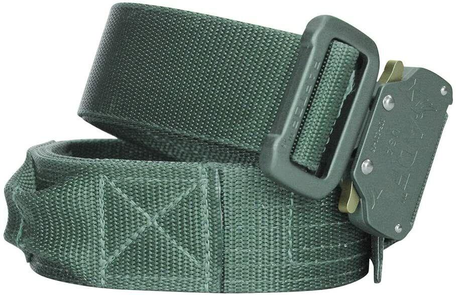 FUSION Unisex's Schießgürtel Beutegürtel & -taschen, Laubgrün, Large/4,4 cm