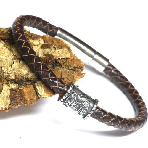 mittelalterlicher Siegel Anhänger Bronze Handelsleute Mittelalter Lederschnur