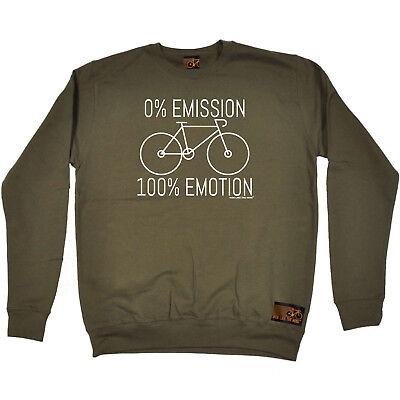 Cerca Voli Ciclismo Felpa Divertente Novità Maglione Top - 0 Emissioni 100 Emozione-