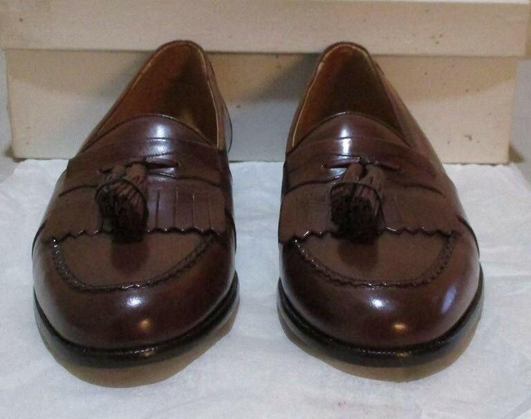 New Prvt. Label: by Mezlan #8492 7.5 M brown (6383)