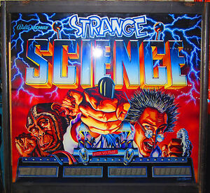 Strange Science Complet Éclairage Led Kit Personnalisé Super Brillant Flipper