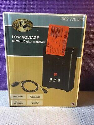 New Hampton Bay Low Voltage 60 Watt Digital Transformer