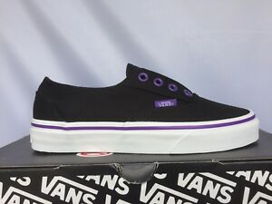 1eb568e926 Image is loading Vans-Unisex-Juniors-ERA-LACELESS-Black-Passion-Flower-