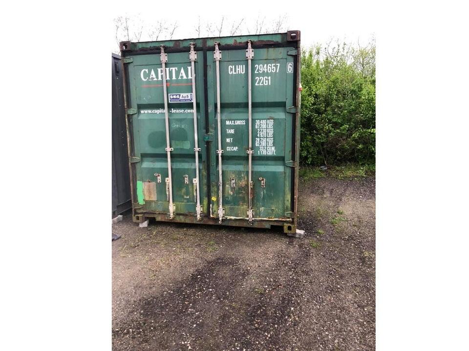 20′ isoleret container, brugt 20 fods (Galten)