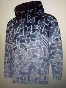 Détails sur Hommes Adidas Originals Teorado sur la tête Vert Camouflage Homme Veste afficher le titre d'origine