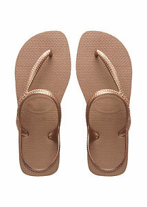 6d1c10e35bbc16 Image is loading Havaianas-Flash-Urban-Rose-Gold-Sandals-UK-Sizes-