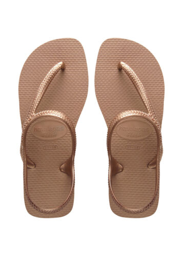 Havaianas Flash Urban Rose Gold Sandals UK Sizes 3-9 RRP £22.00