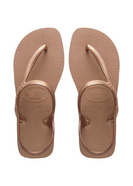 03fa64526 Havaianas Urban Rose Gold Flip Flops Rubber Sandals BR 35-36 UK 3 EU ...