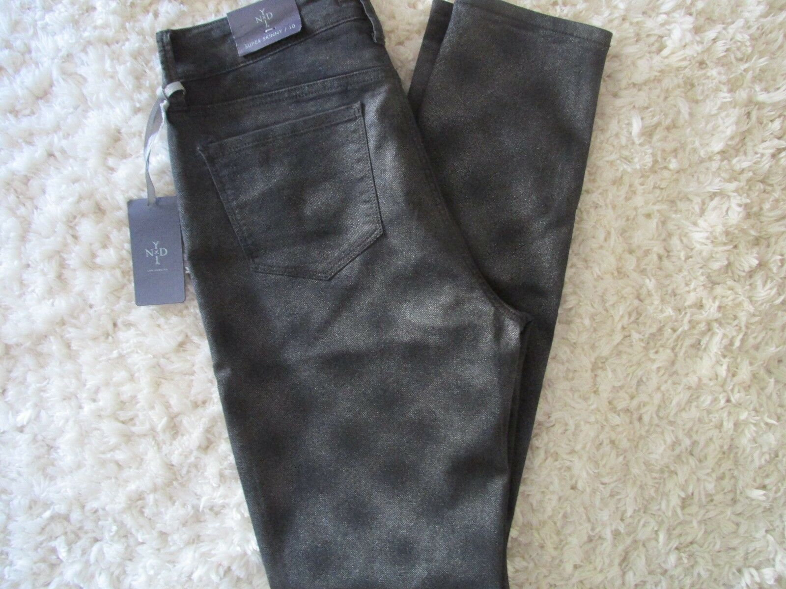 NYDJ NOT YOUR DAUGHTERS JEANS SUPER SKINNY JEANS SZ. 10