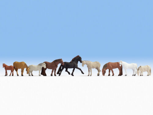 NOCH 15761 Spur H0 Figuren Pferde #NEU in OVP##