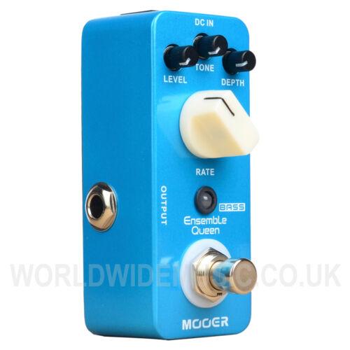Stomp Box Mooer Micro Series Ensemble Queen Bass Chorus Effects Pedal