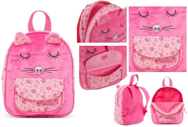 Laura Ashley 11 Mini Kids Backpack Cat Critter Ebay